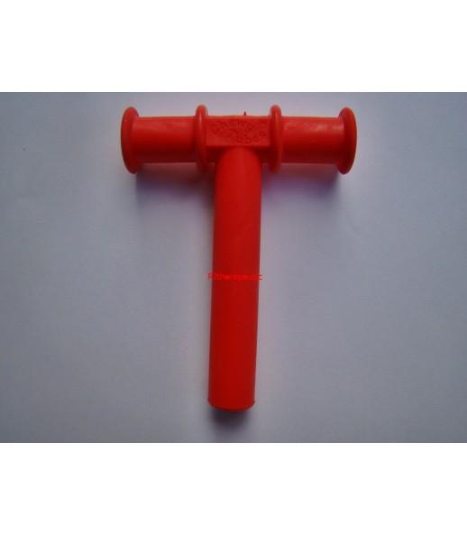 Tubka żuchwowa czerwona