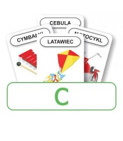 Logopedyczny Piotruś. Karty do głoski C