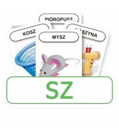 Logopedyczny Piotruś. Karty do głoski SZ
