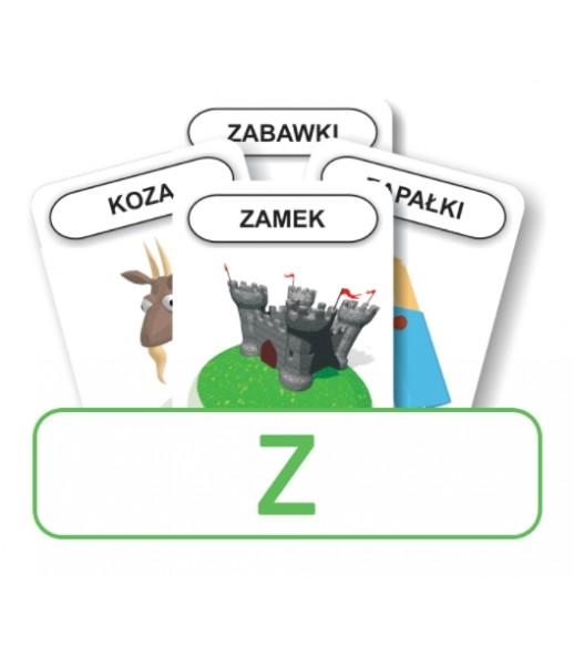 Logopedyczny Piotruś. Karty do głoski Z