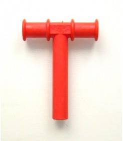 Gryzak logopedyczny- tubka logopedyczna w kształcie litery T