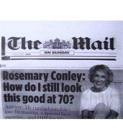 Artykuł o Rosemary Conley, która zawdzięcza piękno twarzy narzędziu do rehabilitacji twarzy Facial Flex